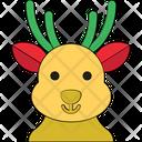 Animal Head Deer Head Elk Icon