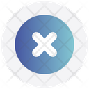 Interface Circle Cross Icon