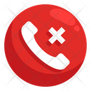 Reject Call Cancel Call Block Call Icon