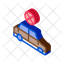 Crashed Car Restoration Icon