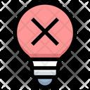 Reject Idea Cancel Idea Reject Icon