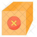 Remove Package Parcel Box Icon
