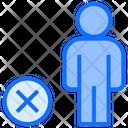 Reject User Delete User Reject Icon