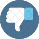 Thumb Down Rejected Dislike Icon