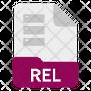 Rel file Icon