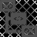Related Task Flowchart Algorithem Icon