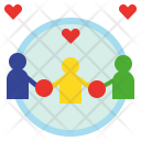 Relational Relation Collaborate Icon