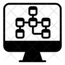 Relational Database Database Cluster Data Network Icon
