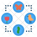 Relationship Ecology Interaction Icon