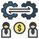 Relationship Exchange Trade Icon