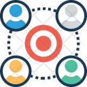 Relationship Group Focus Icon