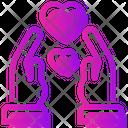 Valentine Day Relationship Heart Icon