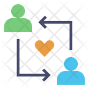 Relationship Engagement Match Icon