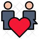 Relationship Attachment Kinship Icon