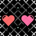 Relationship Attachment Filament Icon