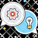 Relationship Network Idea Icon