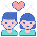 Relationships Couple Love Icon
