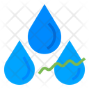 Relative Humidity Climate Change Waterdrop Icon