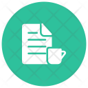 Tea File Document Icon