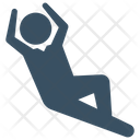 Lazy Relax Student Icon