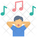 Relax Sing Happiness Icon