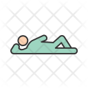 Relax Lying Down Icon