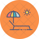 Relax Beach Pool Icon