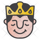 Relax King Icon