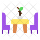 Relax Spot Seating Area Relax Area Icon
