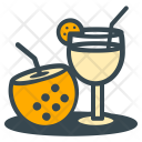 Relaxation Cocktail Drink Icon