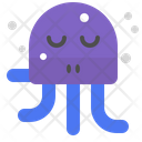 Relaxed octopus Icon