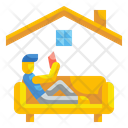 Relaxing Wellness Chill Icon