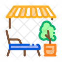 Relaxing Area Icon