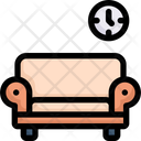 Relaxing In Sofa Icon
