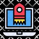 Release Launch Rocket Icon