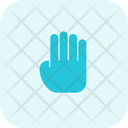 Release Hand Pointer Icon