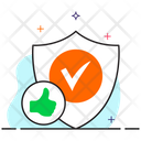 Reliability Security Shield Verified Shield Icon