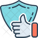 Reliable Security Protection Icon