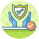 Reliable Services Safety Shield Protective Shield Icon