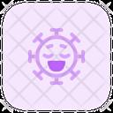 Relieved Coronavirus Emoji Coronavirus Icon