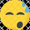 Relieved Emoji Icon
