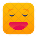 Relieved Face Expression Icon