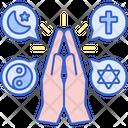 Religion Book Festival Icon