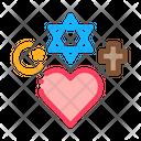 Religious Tolerance Equality Icon