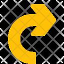 Reload Turn Chevron Icon