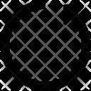 Synchronization Initializing Refresh Icon