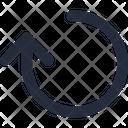 Arrow Reset Up Icon