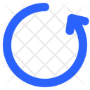 Rotate Counterclockwise Refresh Icon