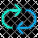 Synchronize Refresh Rotate Icon