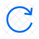 Rotate Right Arrows Icon